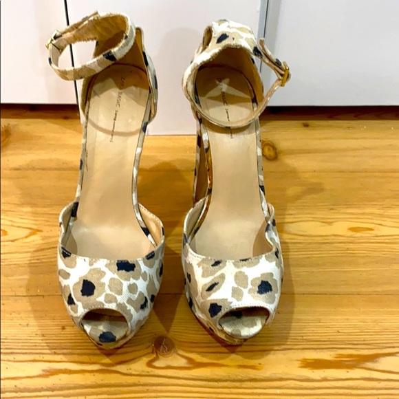 Zara platform sandals size 38